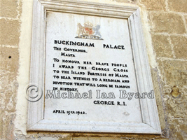 Malta George Cross Citation